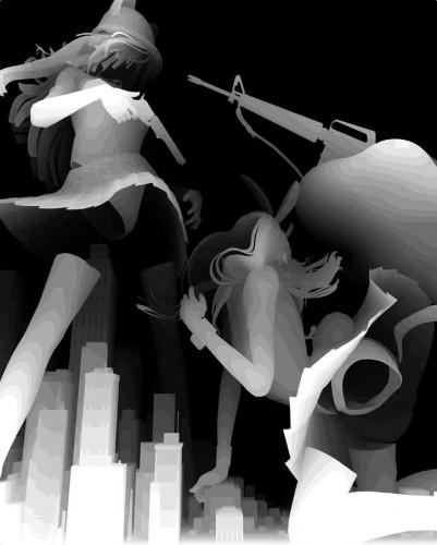 KT1 401x500 Artwork by Kazuki Takamatsu Visual Tricks Sexy