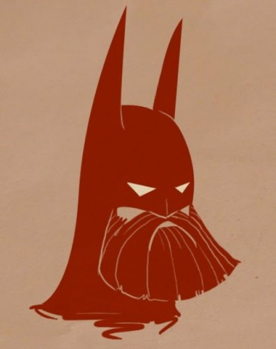 beardbatman 396x500 Bearded Characters Humor Gaming Awesome Things