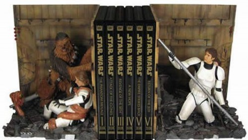 bookends 07 500x282 Cool Bookends star wars Comic Books