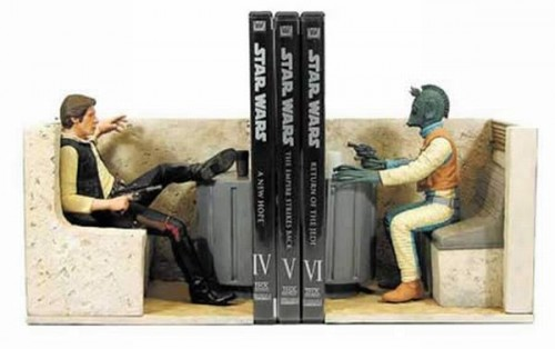 bookends 15 500x314 Cool Bookends star wars Comic Books