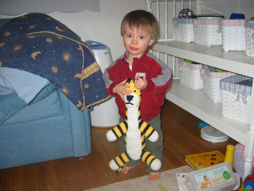 Best Dad Ever of the Day:  Kid Gets Custom Made Hobbes From Dad