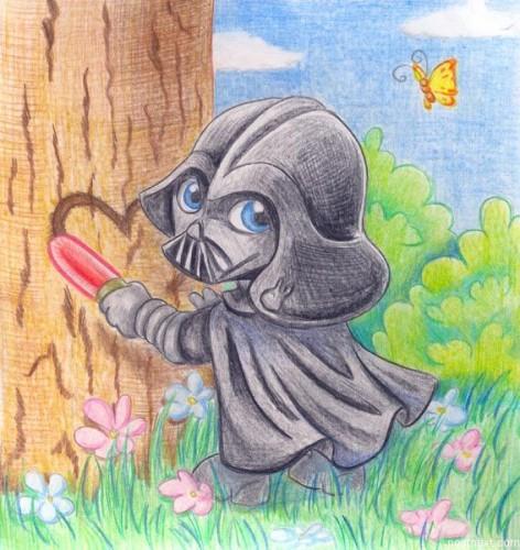 vader 472x500 Cute Vader star wars