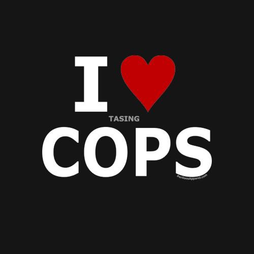tasingcopsthumb I Love (Tasing) Cops Humor