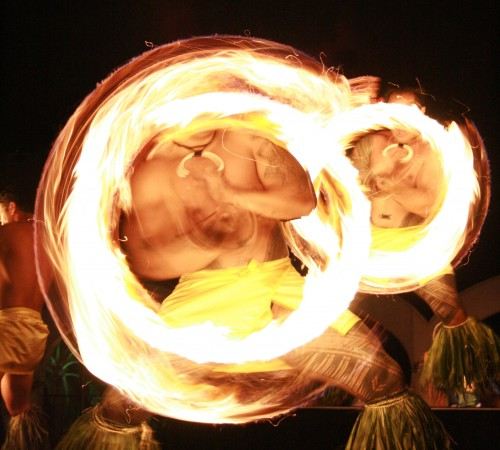 The Samoan Fire Knife Dance