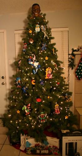 1 264x500 Old School Gamer Christmas Tree