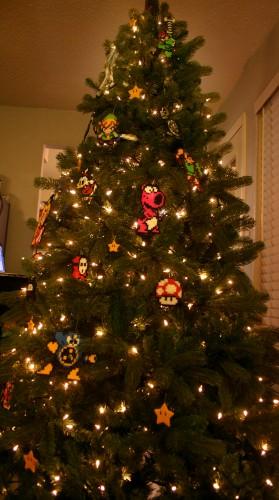 2 279x500 Old School Gamer Christmas Tree