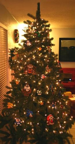 3 260x500 Old School Gamer Christmas Tree