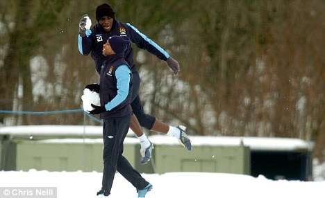 2 Training Ground Ambush winter snow Humor