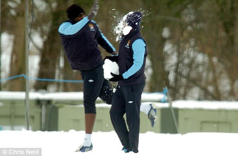 3 Training Ground Ambush winter snow Humor