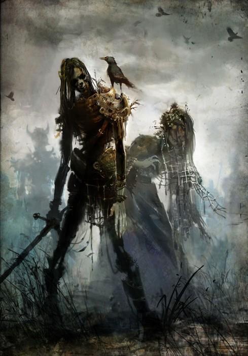 gw2 undead 489x700 Guild Wars 2 Undead Zombies guild wars Gaming