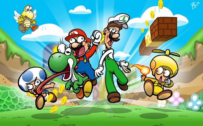 77189 700x437 Mario and the gang