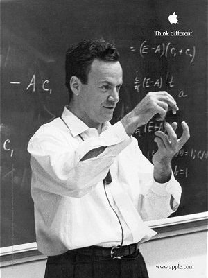 td feynman Two Dicks Science! richard feynman