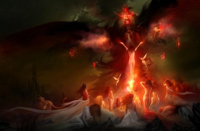 Hellzunas 700x457 Amazing art! Wallpaper Fantasy   Science Fiction
