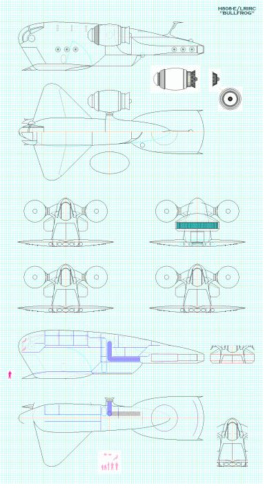 H 808E / LRIRC Bullfrog