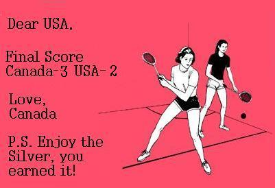 Can Final Score Canada 3 USA 2 Sports olympics 2010 Humor