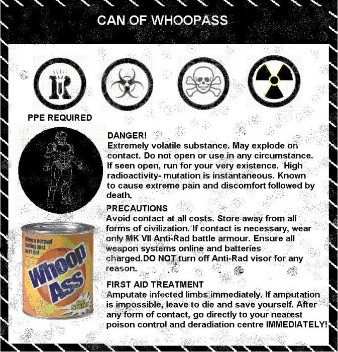 WHMIS can of whoopass 673x700 WHMIS for a can of whoop ass