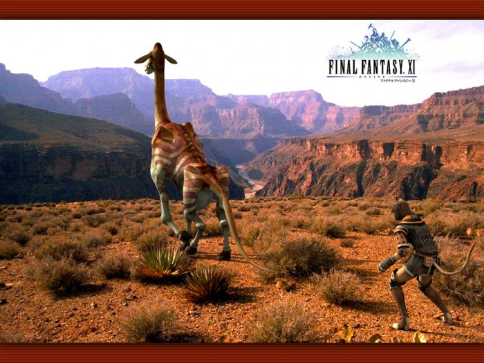 dhalmelwall 700x525 FFXI Photorealistic Desktops Wallpaper Gaming final fantasy
