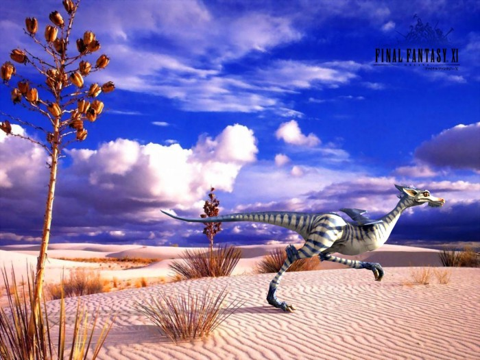raptorwall 700x525 FFXI Photorealistic Desktops Wallpaper Gaming final fantasy