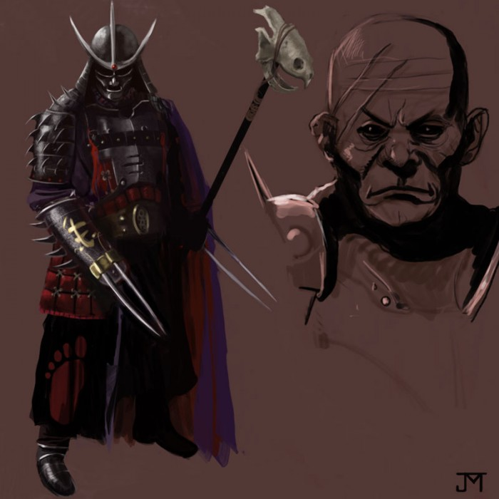 shredderbymanji675 700x700 Samurai Era Shredder tmnt
