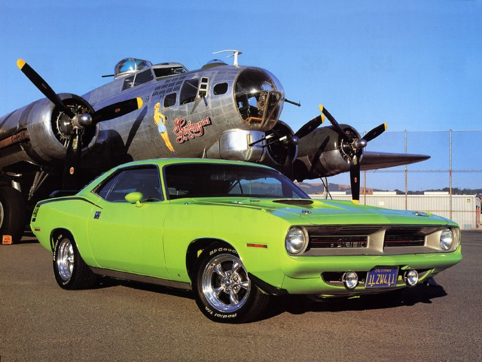 1970PlymouthBarracuda1 700x525 1970 Plymouth Barracuda Wallpaper Cars airplanes