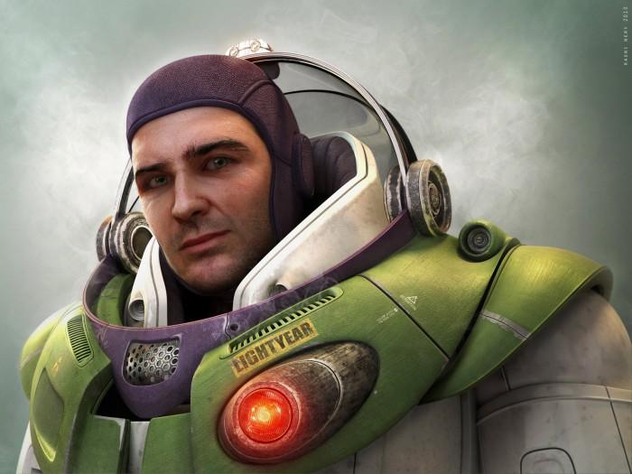Realistic Buzz Lightyear