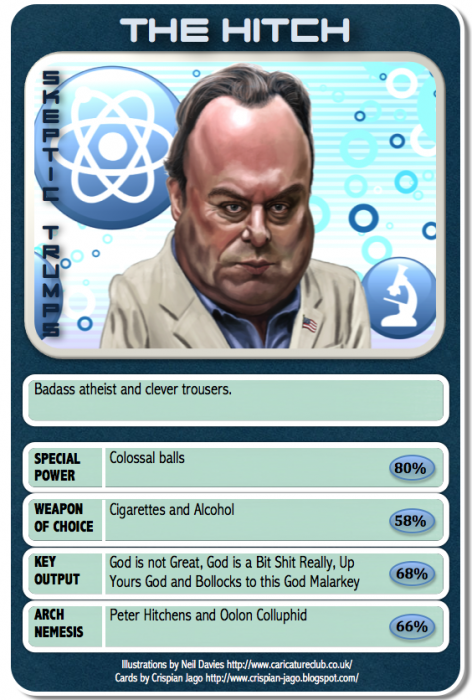 card 015 Christopher Hitchens 472x700 Skeptic Trumps   II Humor CCG