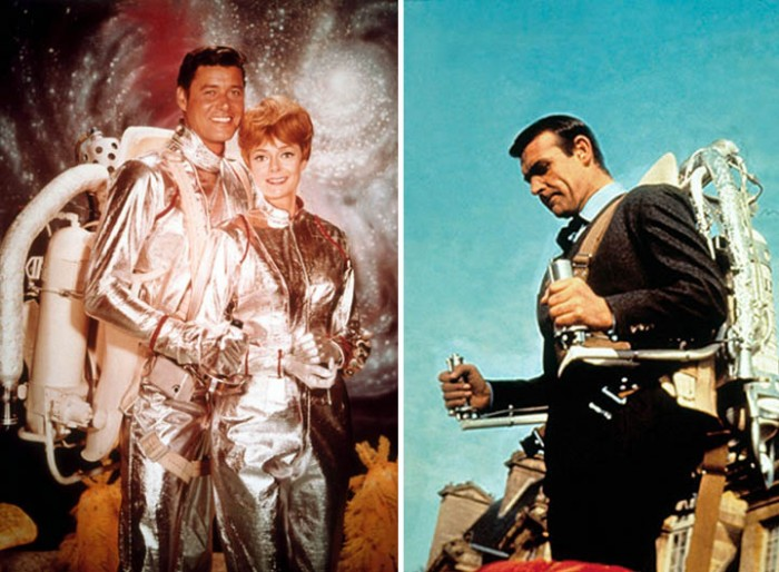 jetpacks   Lost in Space and James Bond 700x514 Jetpack wtf Technology Science!