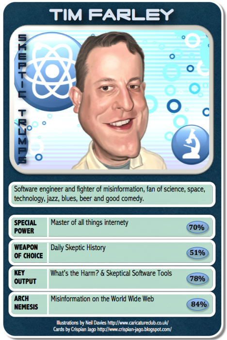 card 033 Tim Farley 468x700 Skeptic Trumps   V Science! Humor CCG