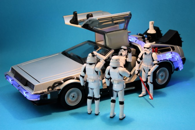 WtSsa Stormtrooper shenanigans X Mas star wars Humor back to the future