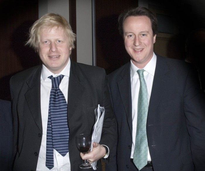 boris johnson and david cameron 700x583 Boris and Dave Politics
