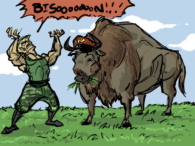 BISON_by_Coelasquid.jpg (131 KB)