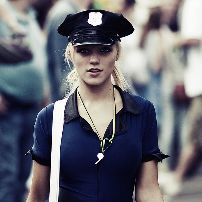 police Keira Knightly in uniform Sexy Keira Knightly