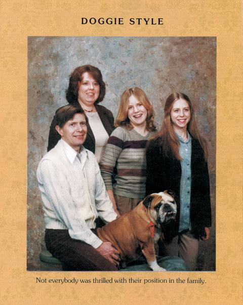 doggi Not everybody was thrilled with their position in the family Humor
