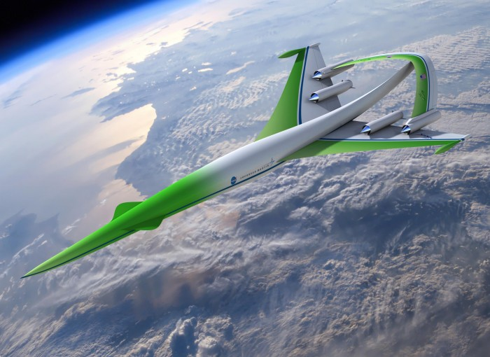 greenmachine nasa big 700x510 Concept Plane: Supersonic Green Machine Wallpaper airplanes