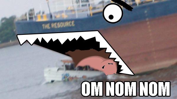 Duck Boat Nom Nom Duck Boat Nom