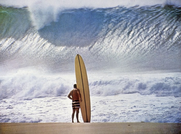 tumblr l5yy55Gaez1qz6f9yo1 1280 700x520 Greg Noll Waimea Bay, Hawaii 1957 wtf Sports Nature