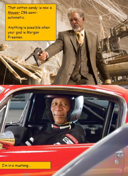 morgan freeman as god Morgan Freeman Humor forum fodder