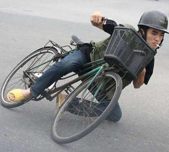awesome biker