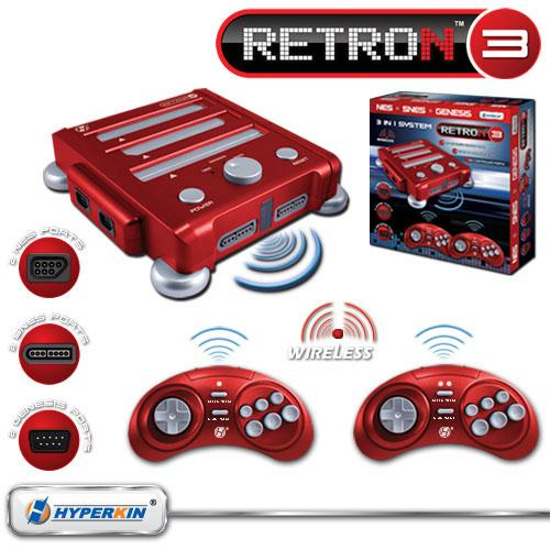 M05488 RetroN 3 Video Gaming System Gaming Awesome Things
