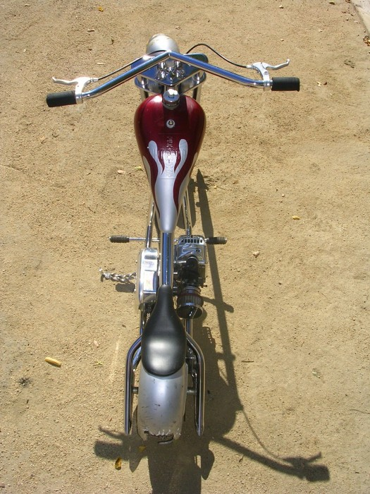 West coast hogs mini chopper