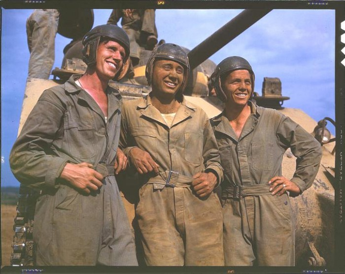 M 4 tank crews of the United States. Fort Knox, Kentucky, June 1942. 700x555 America circa 1939 1943 wtf