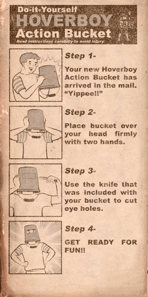 DIY Bucket Hoverboy Action Buckey