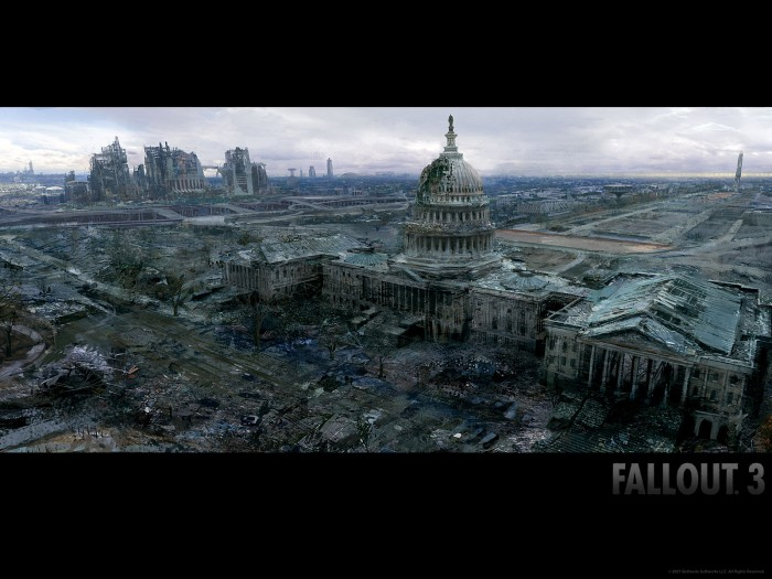 fallout wp1 1600x1200 700x525 Fallout 2   Part 1 Wallpaper Gaming fallout