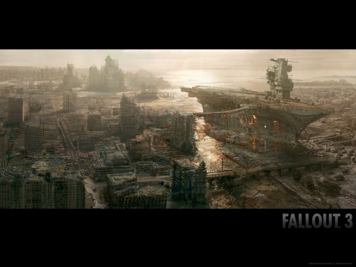 fallout wp2 1600x1200 700x525 Fallout 2   Part 1 Wallpaper Gaming fallout