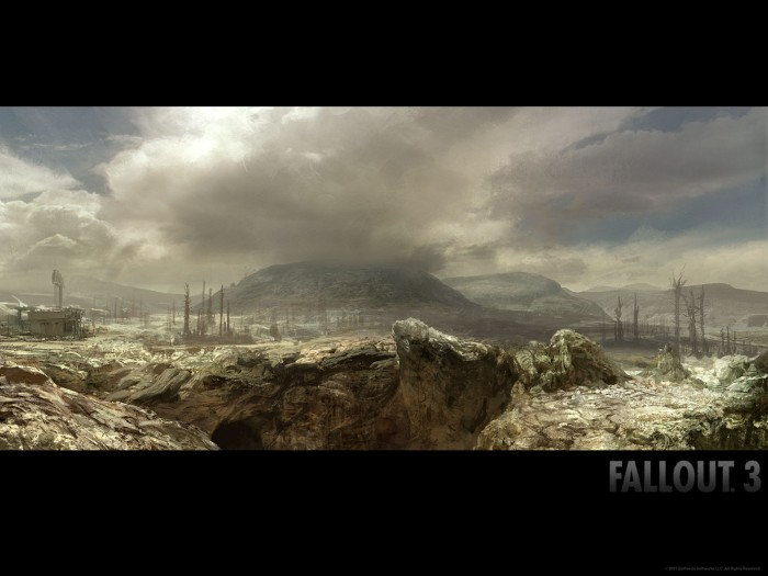 fallout wp5 1600x1200 700x525 Fallout 2   Part 1 Wallpaper Gaming fallout