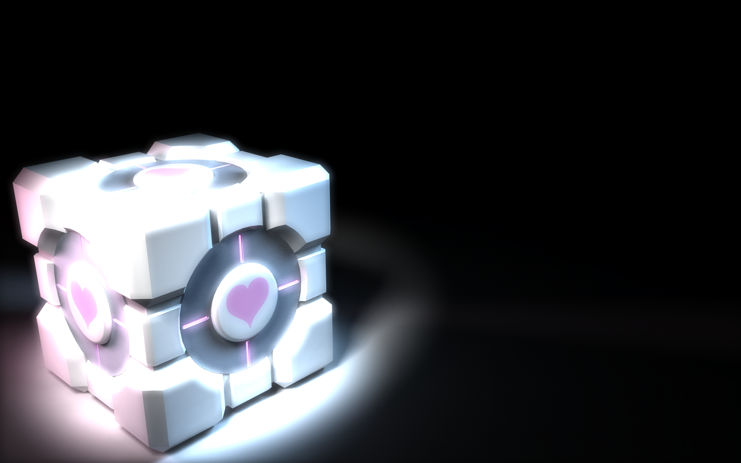 companioncube Companion Cube wallpaper Gaming