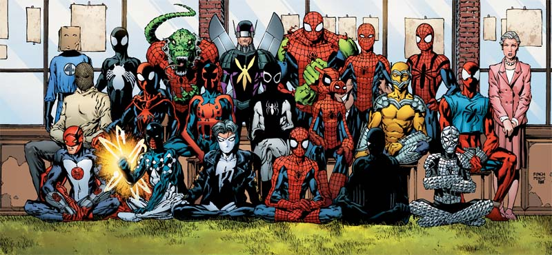 SpideyCostumes Different Spider Men Comic Books