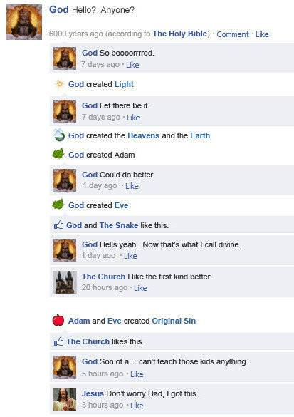 image006 If Facebook was around years ago Science! Religion Politics Dark Humor Computers