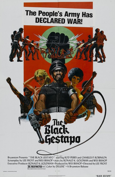 black gestapo poster 01 456x700 classy classic movie posters wtf Movies Movie posters