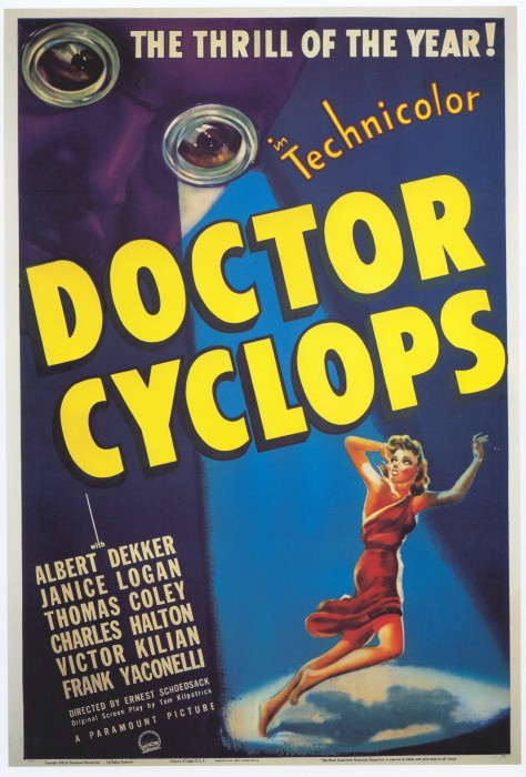 dr cyclops poster 02 474x700 classy classic movie posters wtf Movies Movie posters